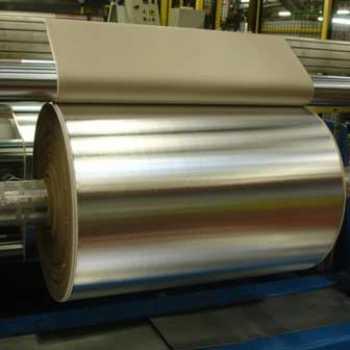 Aluminium laminated with insulation material