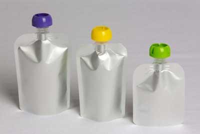 Alu-Plastik Standbodenbeutel