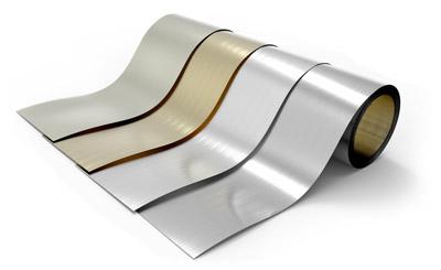 Wir bieten lackiertes Aluminium auf Mindermengen-Rollen an.