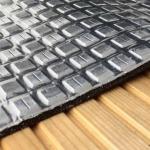 Aluminumfolie im Saunabau