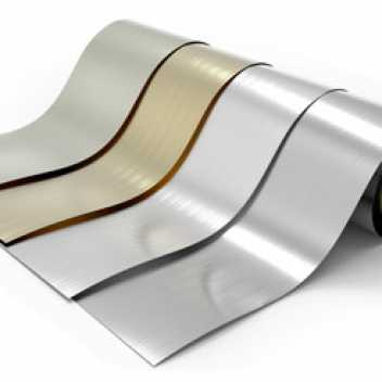 We offer lacquered aluminium on small-quantity reels.