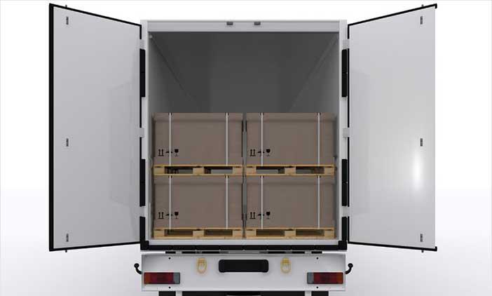 Isolierungen Schutzhauben LKW Transport