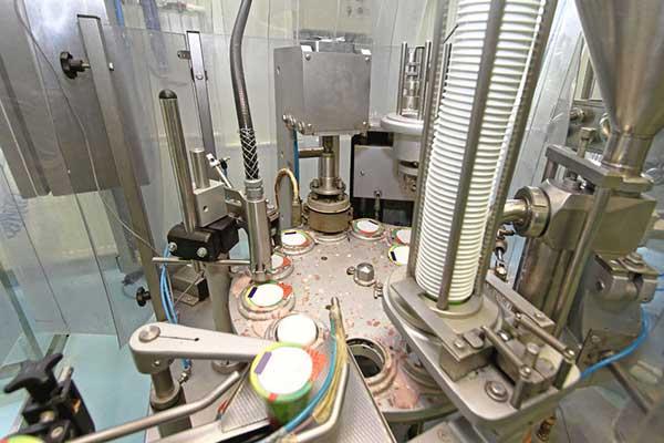 Joghurtdeckel Folie Produktion