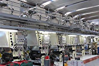 Kaffeekapseln Folie Produktion